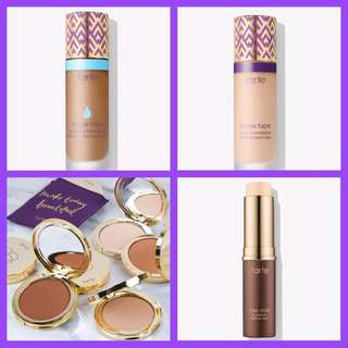 EXCLUSIVE/NOT AVAILABLE  NEW & AUTHENTIC TARTE BEST-SELLING FOUNDATION