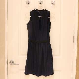 Mango Casual Blue Dress