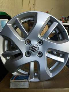 "Suzuki Swift Stock Rims ""15s"