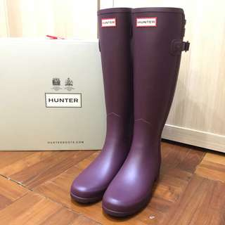 Hunter Original Refined Back Strap Wellington Boots