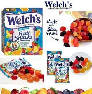 大量現貨!Welch's 果汁軟糖 Kid's Mixed Fruit Snacks