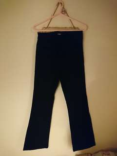 Black flare jeans from Korea