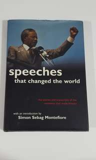 Speeches that Changed the World by Montefiore [Hardcover]