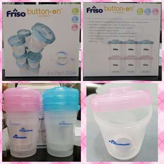 Friso button-on cups 6s