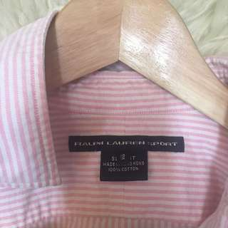 Ralph Lauren stripped shirt