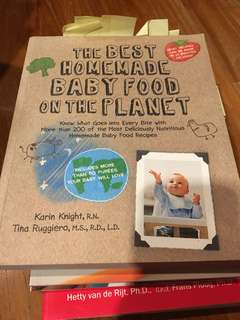 Book - The best homemade baby food on the planet