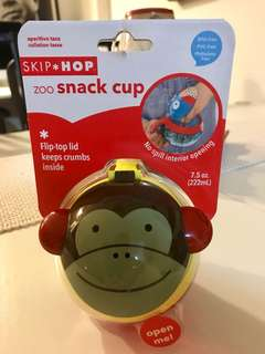 """BRAND NEW SKIPHOP ZOO CUP, DESIGN MONKEY, FAST DEAL """"14.00"""" NEGOTIABLE"""