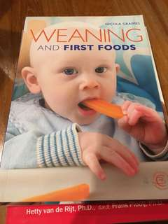 Book - Weaning and first foods