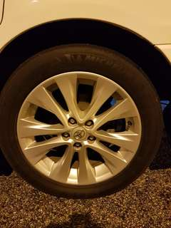 "Vellfire 18"" Original Sport with Michelin Primacy Tyre"