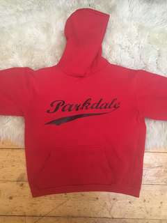 Parkdale red hoodie