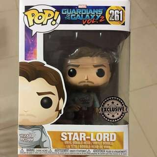 Authentic Funko Star-Lord Exclusive