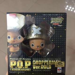 Original One Piece ChopperMan Ver Gold Limited Edition( MISB)