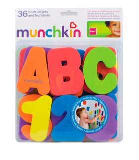 *In stock* Munchkin Bath Alphabets and Numbers