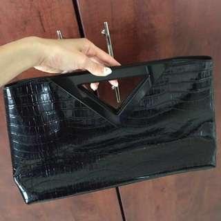 Vincci Black long clutch