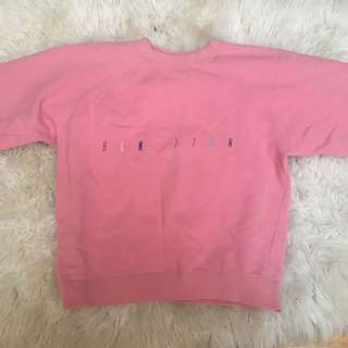Benetton pink sweater