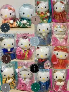 BNWT Hello Kitty Plush Toys Collectibles