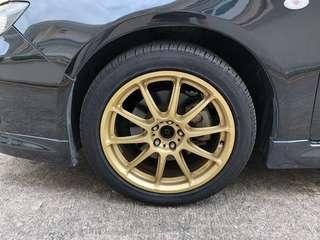 """17"""" 5x100 Rims + Pirelli Tyres for Swop"""
