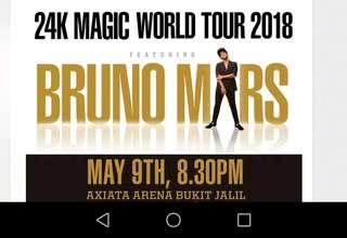 Bruno Mars Live in KL