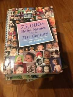 Book - 75,000+ baby names for the 21st century