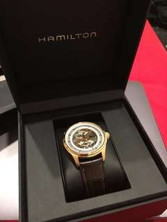 Selling Hamilton Jazzmaster Skeleton Gent Auto Men's Luxury Watch