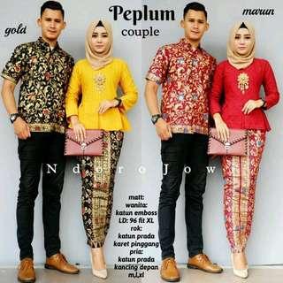 Couple Kebaya Batik