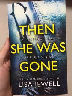 Then she was gone (brand new book)