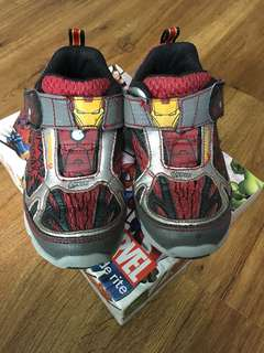 Stride Rite Boys Marvel Shoes
