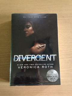 Divergent by Veronica Roth (Movie Cover)