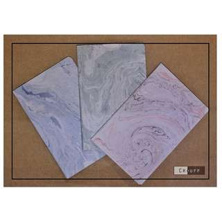 Marble and Math Equation notebooks