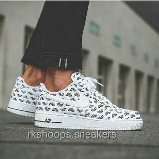 {Promo] Nike Air Force 1 Low All Over logo Pack