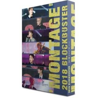 BLOCK B - 2018 BLOCKBUSTER [MONTAGE] 2 DISC