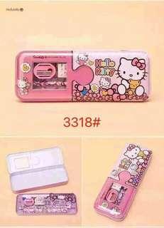 Hello Kitty Pencil Case Set 2