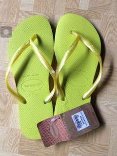 Authentic Havaianas slippers s37-38