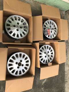 "Honda City 04 Mags stock 13"" rush"