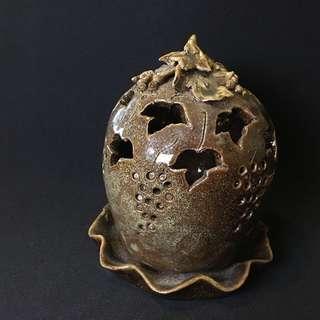 陶瓷香座爐 Ceramics candle incense holder