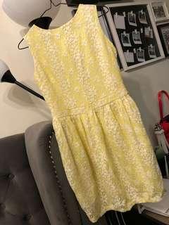 GTWFab yellow lace dress
