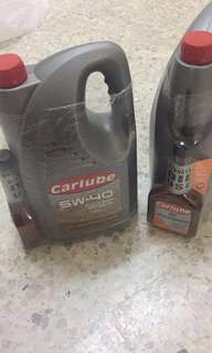 Carlube Fully Synthetic 5w-40 (5L) + oil treatment