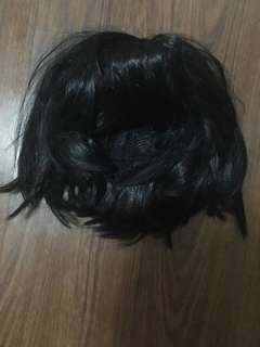 FREE! Short black wig/Male wig