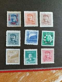 中國郵票 民國時期新票
