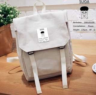 Kpop BTS Suga Canvas Bag