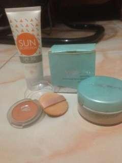 Paket A makeup Emina Wardah