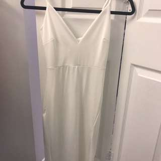 White Tank Dress From M