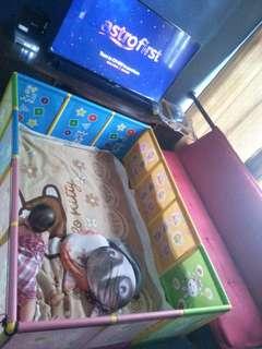 Cage playground baby