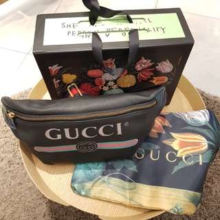 Gucci fanny pack black