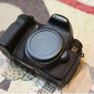Canon 60D body SC6K only