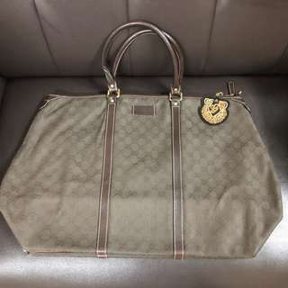 Gucci 大袋 Travel Bag (可上膊) 正品