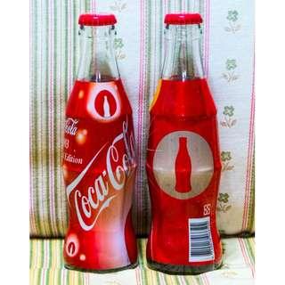 可口可樂台灣Coca-Cola 2003 Limited Edition 紀念樽一套兩枝