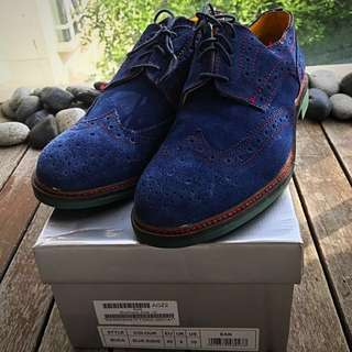 🇩🇪Nat-2 Suede Brogues