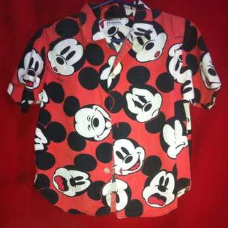 Mickey Mouse polo for kids (boys)