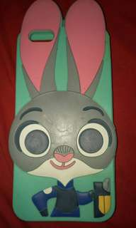 Judy Hopps from Zootopia Rubber Case for iphone 6plus